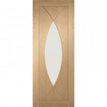 """Xl Joinery 30"""" International Pre Finished Pesaro With Clear Glass, Oak"""