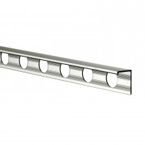 8mm L Shape Edge Tile Trim, Chrome