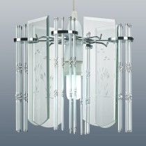 Waterford Ceiling Light Clear, Glass
