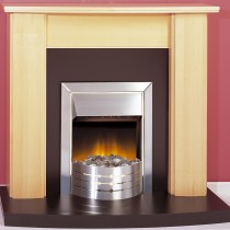 Dimplex Aspen Optiflame Inset Fire, Stainless Steel