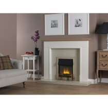 Dimplex Danesbury Optiflame Inset Fire, Antique Brass