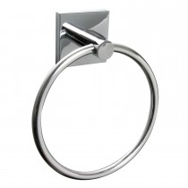 Miller Of Sweden Cube Towel Ring, Chrome