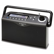 Roberts Classiclite Digital Radio, Black