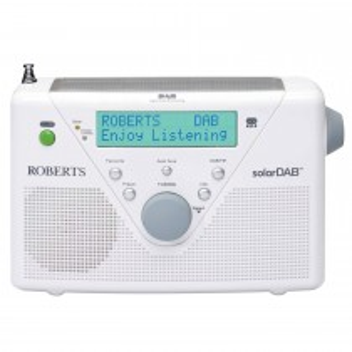 Roberts Solar Dab2 Radio Wh, White