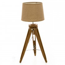 Vista Table Lamp, Beige