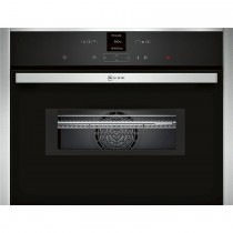 Neff C17MR02N0B Combination Oven, Stainless Steel, 45cm