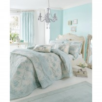 Dorma Celeste Quilt Cover Single, Duck Egg