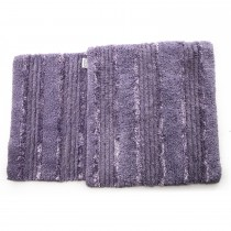 Casa Elite Silk Bathmat Set Lilac, Lilac