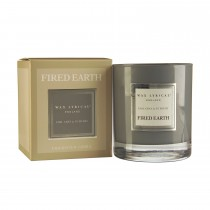 Wax Filled Glass Jar Earl Grey & Vetivert, Grey
