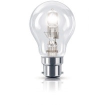 Phillips Ecoclassic 28w B22 240v A55, Warm White