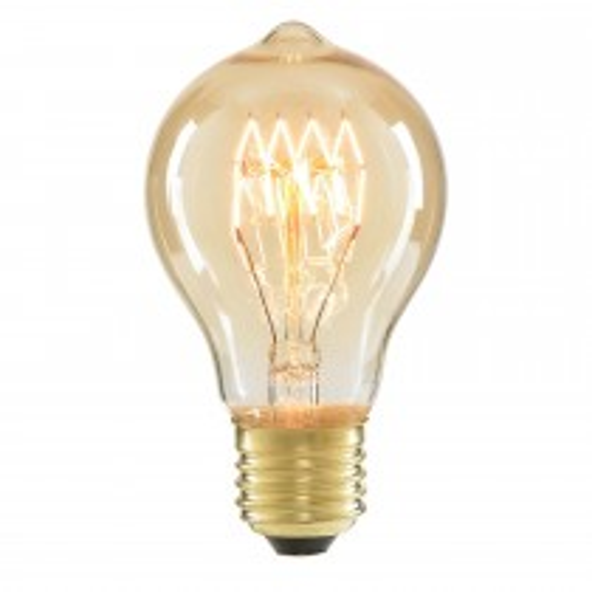 Cascade Electrolite A60 Vintage Bulb 40w Edison Screw, Tinted
