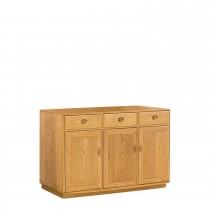 Ercol Windsor 3 Door High Sideboard