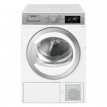 Smeg Dht81luk Heat Pump Dryer, White