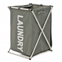 Laundry Hamper, Charcoal/Grey
