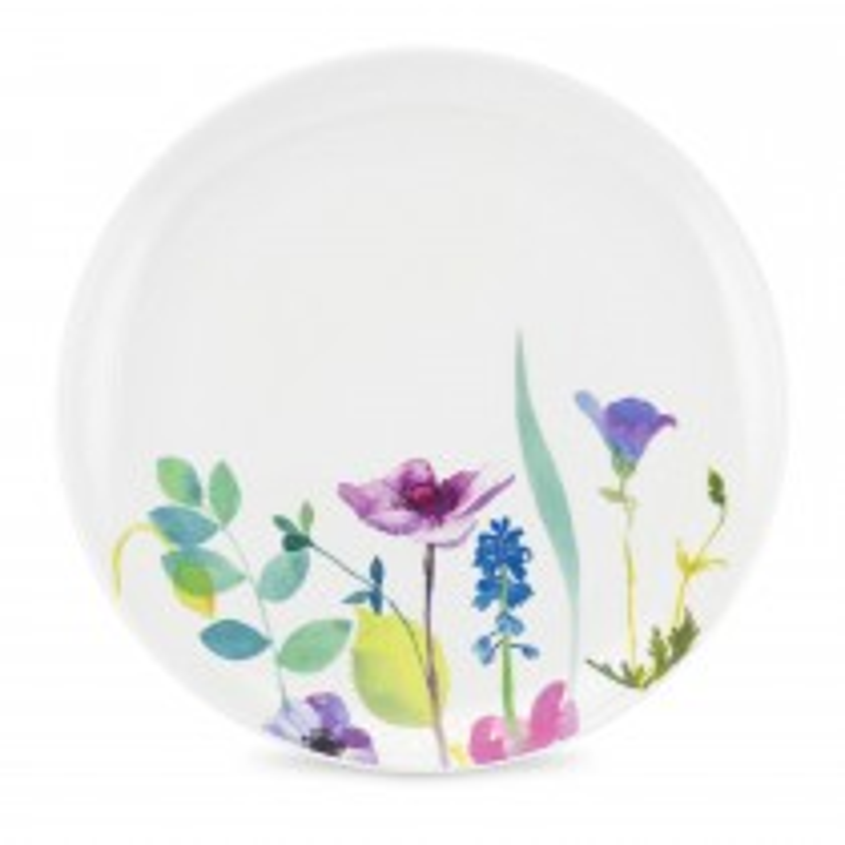 Water Garden Coup Dinner Plate