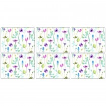 Water Garden Placemats Set 6