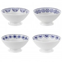 Sophie Blue Mini Dishes Set 4, Blue