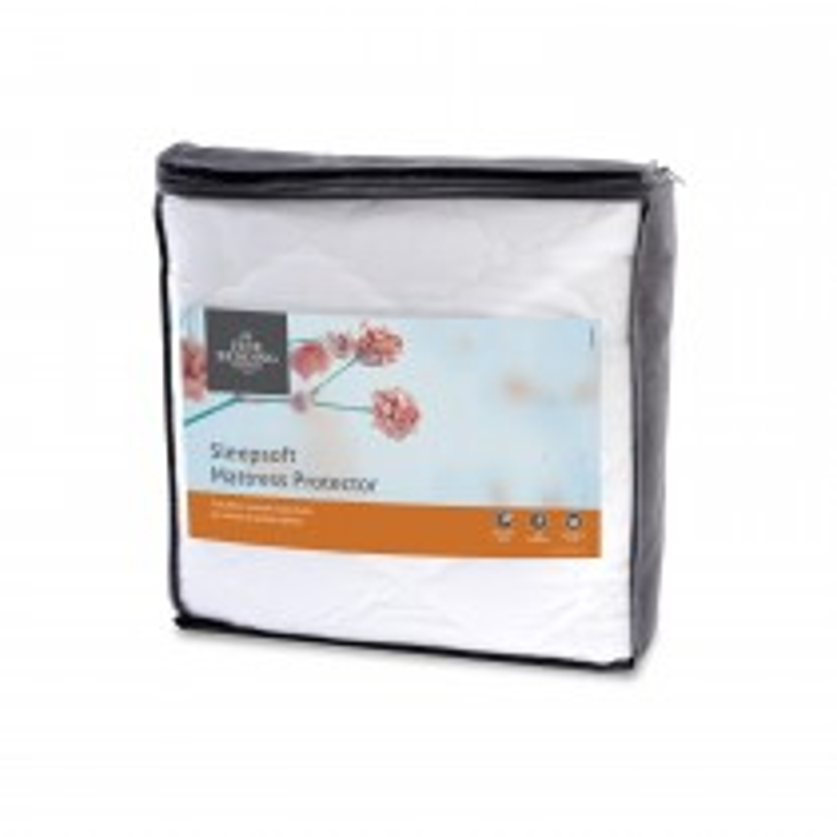 Fine Bedding Company Sleepsoft M/protector Single, White