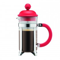 Bodum Caffettiera Coffeemaker 3-Cup, Red