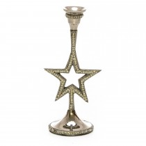 Casa Star Candle Holder, Silver