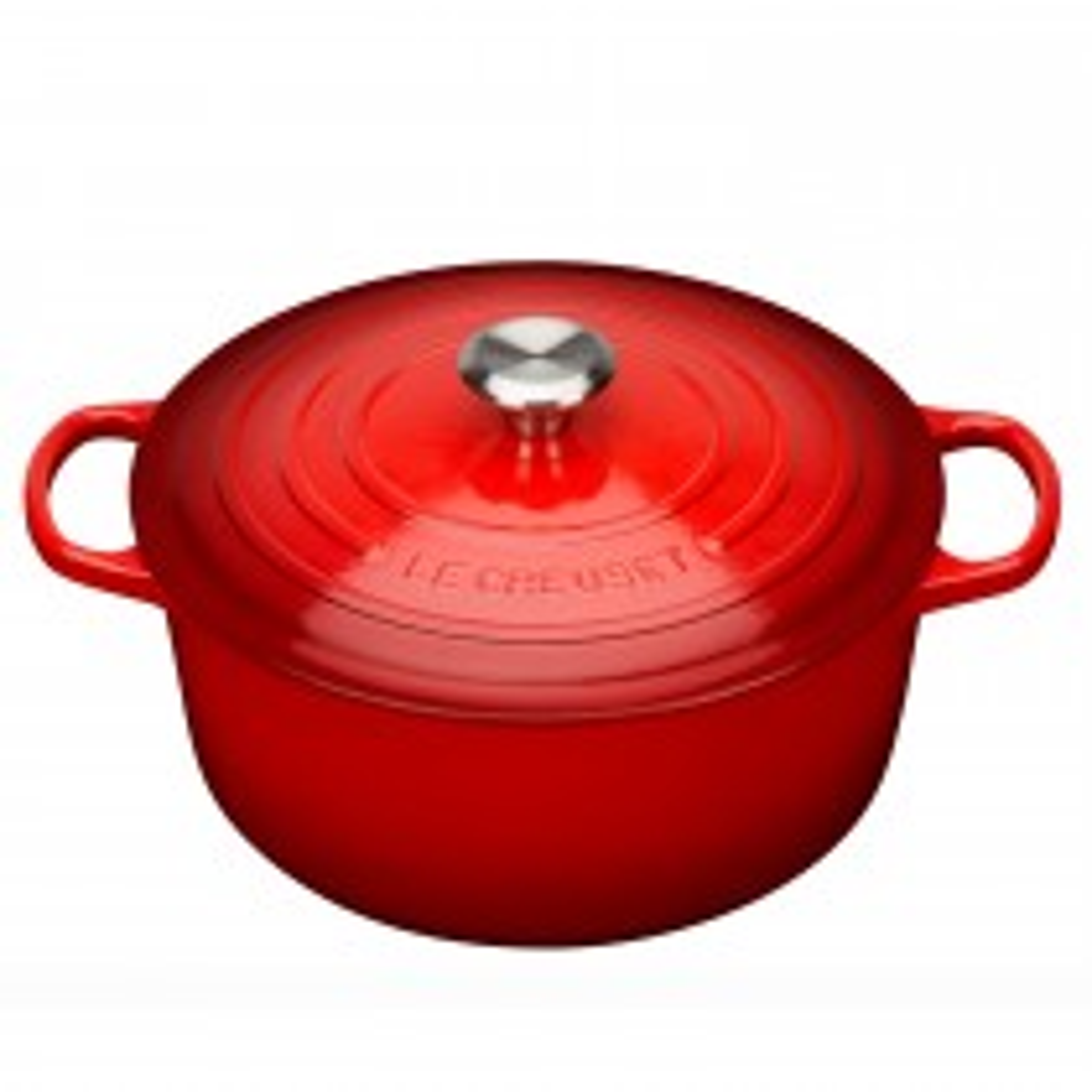 Le Creuset Round Casserole Dish 28cm, Cerise