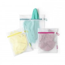 Brabantia Wash Bags Set Of 3, White