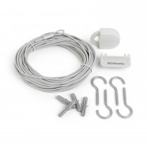 Brabantia Clothes Line Set, White