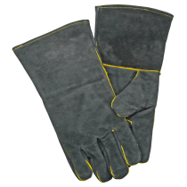 Manor Fireside Gloves, Grey