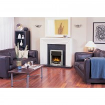 Dimplex Danesbury Electric Fire, Chrome,