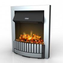 Dimplex Whitmore Electric Fire, Chrome