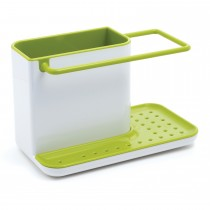 Joseph Joseph Caddy Sink Organiser Large, White/Green