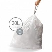 Simplehuman Code D, Pack Of 20 Liners