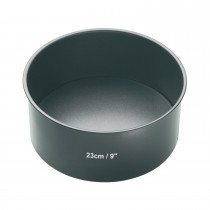 Kitchencraft 23cm Deep Cake Pan, Black