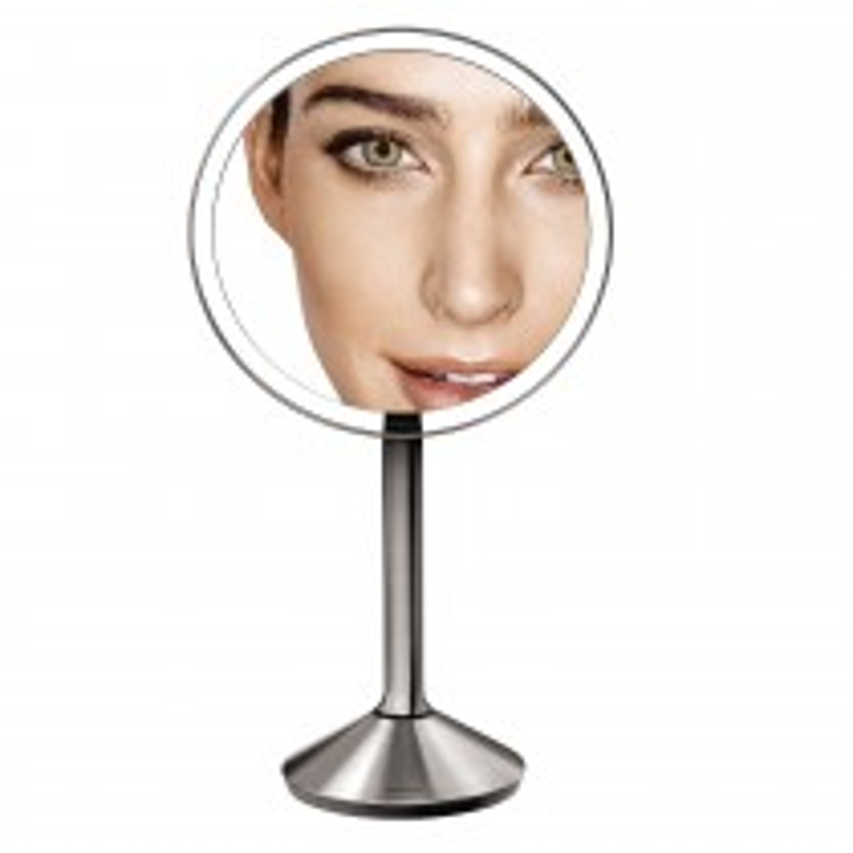 Simplehuman Sensor Mirror X7 Magnification, Silver