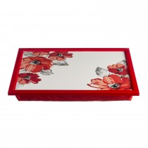 Price And Kensington Posy Laptray 43.5 x 30cm, Red