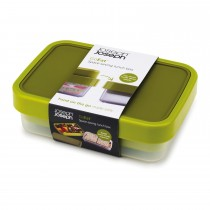 Joseph Joseph Goeat Compact 2-in-1 Lunch, Green