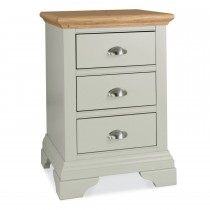Casa Bampton 3 Drawer Nightstand