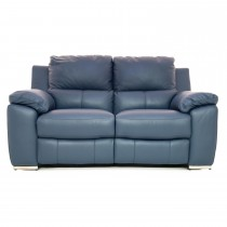 Casa Fiji 2 Str Power Recliner Sofa, Ocean Blue
