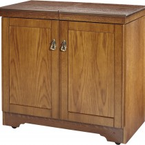 Hostess Real Wood Veneer Antique Oak, Antique Oak