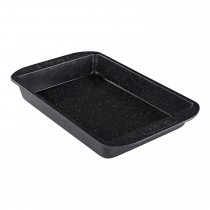 Meyer Prestige Stonequartz Roast & Bake Tray Medium, Black