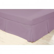 Belledorm Fitted Sheet, Double, Misty Rose