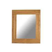 Casa Bordeaux Wall Mirror 90x90cm Mirror, Oak