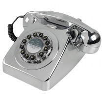 Wild & Wolf 746 Phone Onesize, Chrome Brushed