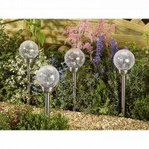 Smart Garden Majestic Solar Light, Silver/multi Light