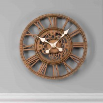 Smart Garden Newby Mechanical Wall Clock, Bronze