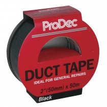 Rodo 50mm X50m Duct Tape Black