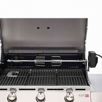 Char-broil Rotisserie, Silver