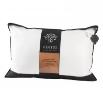 Trendsetter Nimbus Bronze Coll Goose Down Pillow, White