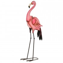 Casa Flamingo Juliet, Metal Animal, Pink