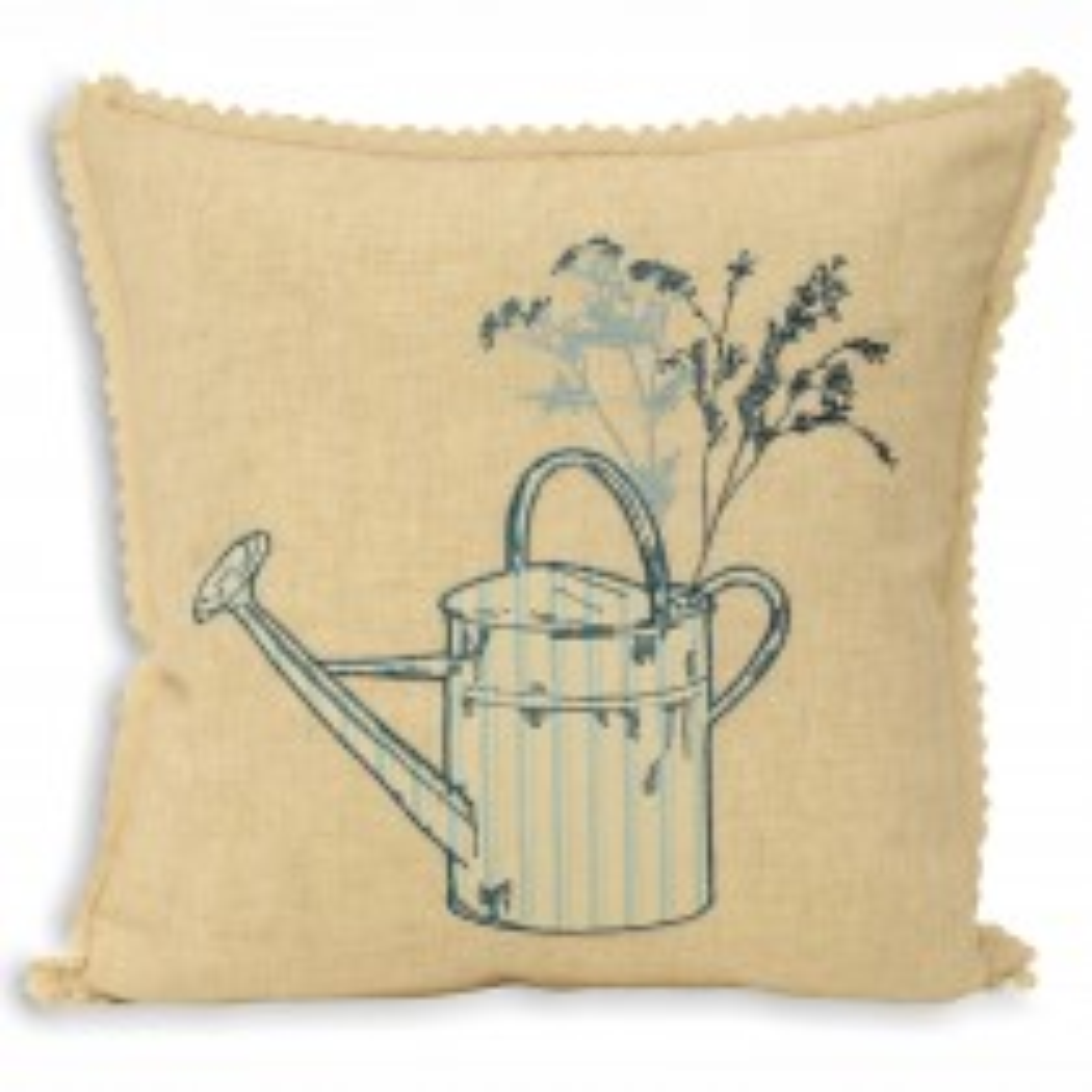 Riva Paoletti Watering Can 43x43 Cushion, Cream